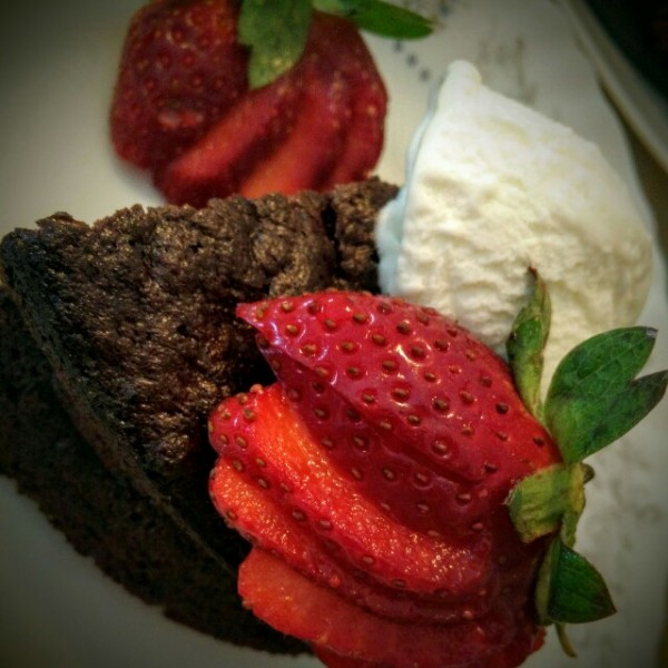 Gluten Free Chocolate Prune Cake